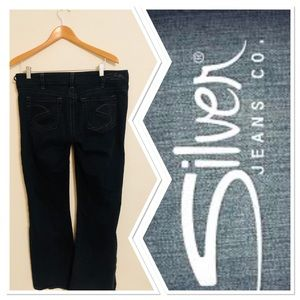 🐾Silver Jeans🐾 Stretch Denim Boot Cut Suki Sz32